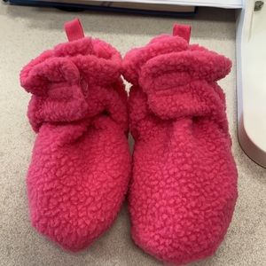 Fleece Booties by Luvable Friends Cute practical.